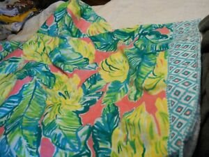 New Lilly Pulitzer Pottery Barn Kids Hooded Beach Towel