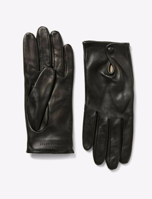 BNWT Ladies Real Leather Gloves Black Brown or Grey all sizes