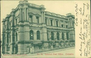 Colombo-General-Post-Office-Posted-1905-AK-1219