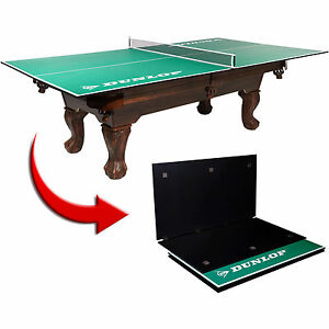 New table tennis conversion top folding ping pong indoor for Convert indoor pool table to outdoor