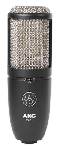 AKG P420 Studio Condenser Recording Podcasting Microphone Dual Capsule Mic