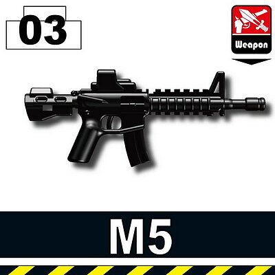 Carbine Assault Rifle Compatible With Toy Brick Minifigures W131 M4