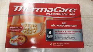 Thermacare Rückenumschläge 4 ST Bei Rückenschmerzen