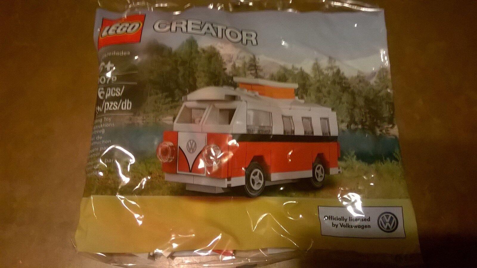 Sealed LEGO Polybag Creator VW T1 Camper Van