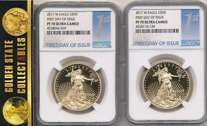"2010-W  American Silver Eagle NGC PF-70 UCAM /""Early Releases/"" W//Orig Box /& Coa"