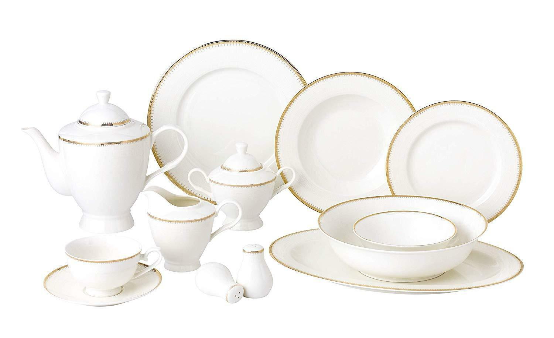 Royalty Porcelain or vintage motif 57-pc Dinnerware Set  ROYAL or
