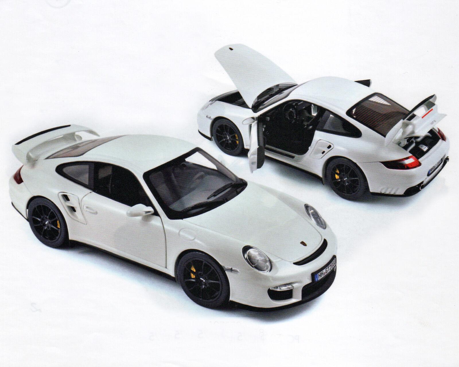 Porsche 911 GT2 - Bianco, Norev 1 18