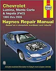 1997 monte carlo z34 service and repair manual