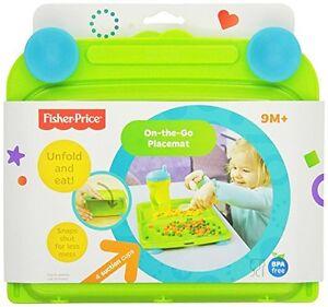 Fisher-Price-Kinder-Teller-Platz-Deckchen-Platzset-On-the-go-Kindergeschirr