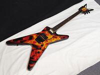 Dean Dime O Flame Ml Electric Guitar - Dimebag - Fire Graphic - Floyd