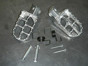 AFTERMARKET-FOOT-PEG-SET-1988-1989-1990-YAMAHA-YZ125-YZ250-YZ490-YZ-125-250-490