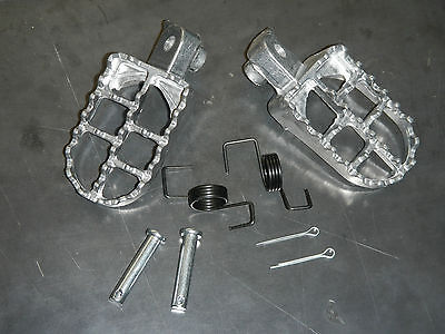 AFTERMARKET FOOT PEG SET YAMAHA IT175 YZ100 YZ125 YZ400