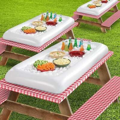 Inflatable Serving Bar Salad Buffet Picnic Drink Table Cooler Party Ice Outdoor Ebay