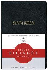 Bilingual Spanish English Bible Biblia Bilingue Rvr 1960/KJV Imit Leather Index
