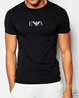 EMPORIO ARMANI black Men's T-shirt,Slim fit, Size S,M,L,XL BNWT