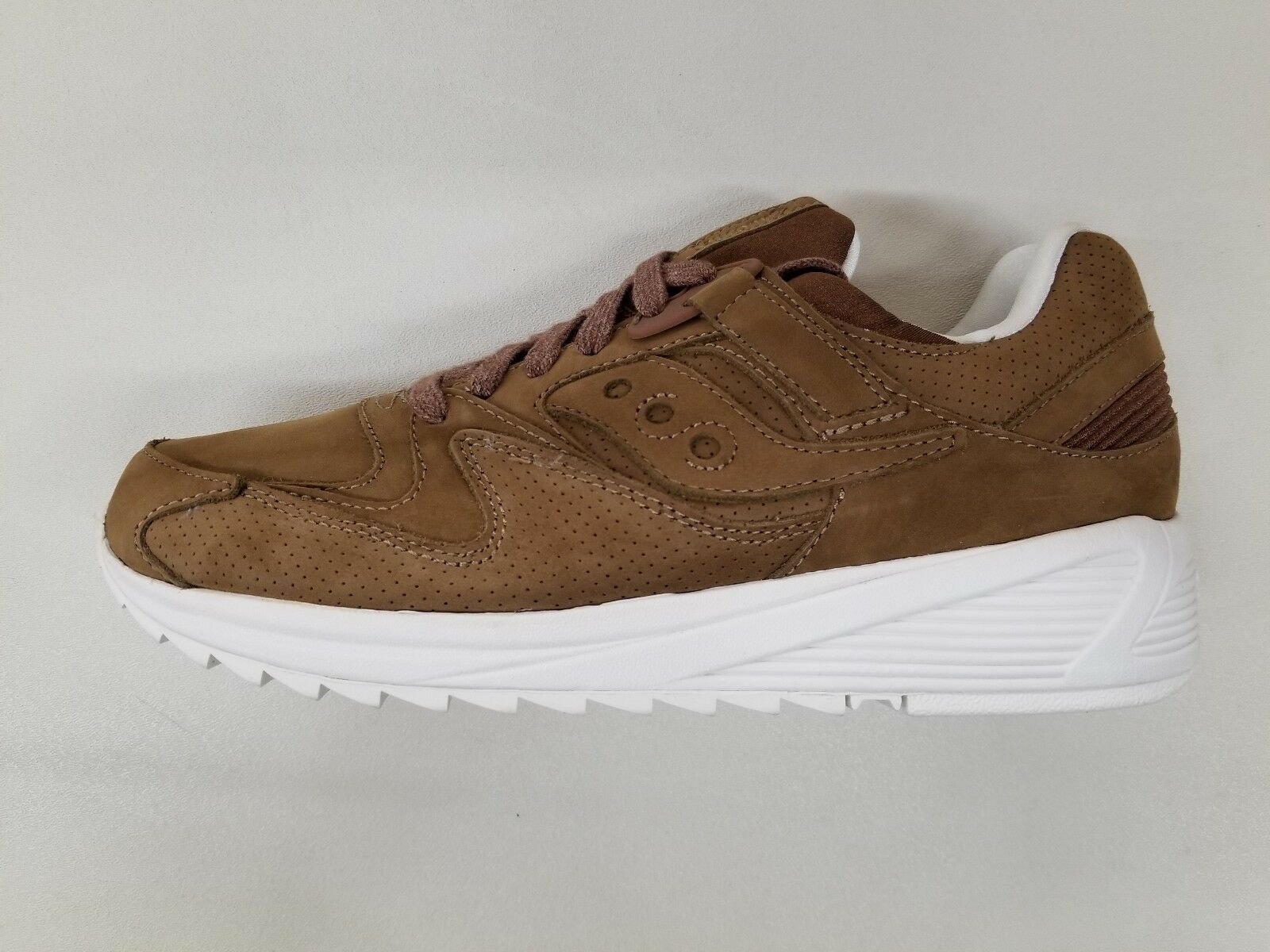 SAUCONY ORIGINALS GRID 8500 HT BROWN BURNISHED PACK Uomo SNEAKERS S70390-2