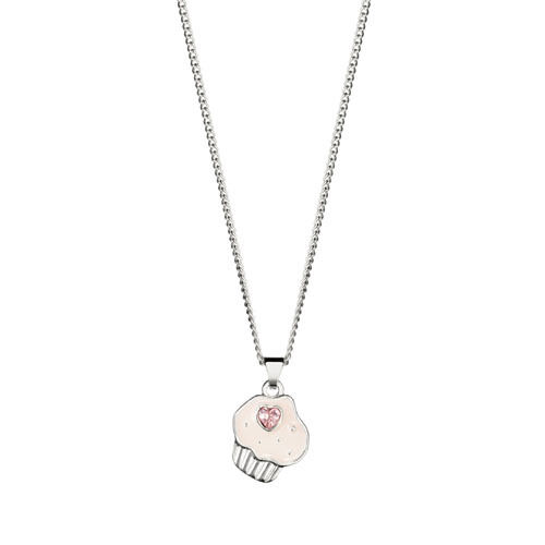 Avon Dotty Childrens Necklace with Cupcake Pendant Boxed