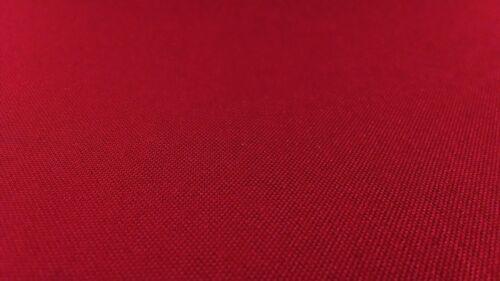 """Rojo 500d Al Aire Libre Tela Cordura Nylon 60/"""" de ancho repelente al agua DWR recubierto"""
