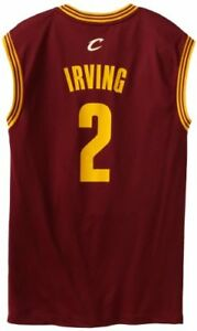 online store b2a5f 2885a Image is loading 55-NBA-Cleveland-Cavaliers-Replica-Jersey-Kyrie-Irving-