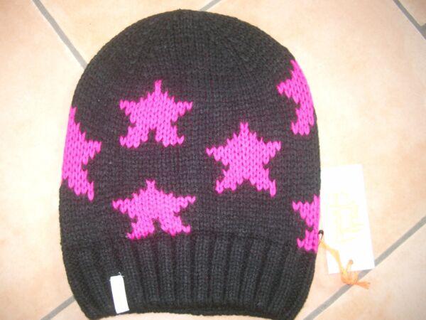 (m21) Grezzo A Maglia Berretto Freaky Testa Beanie Inverno Cappello Little Stars Con Logo Curare La Tosse E Facilitare L'Espettorazione E Alleviare La Raucedine