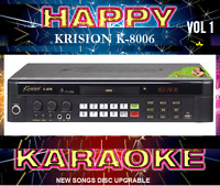 20000 English Tagalog Songs Karaoke Midi Dvd Player Upgradable Disc Vol1