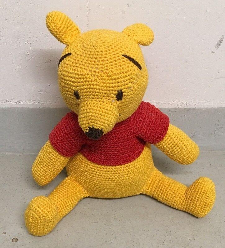 Winnie Pooh   - Größe  45cm - Handmade - neu unbespielt