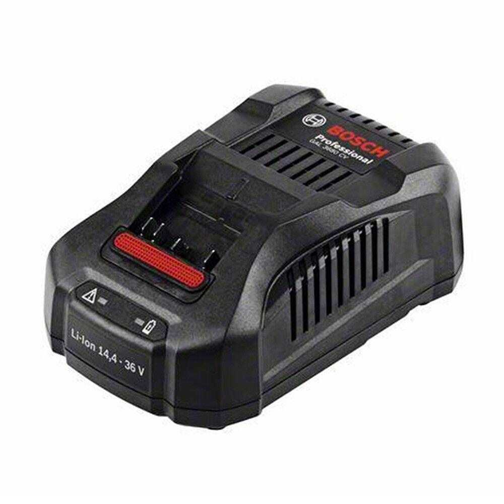 BOSCH GAL 3680 CV Ladegerät Akkuladegerät für alle Bosch 14,4-36 Volt Akkus NEU