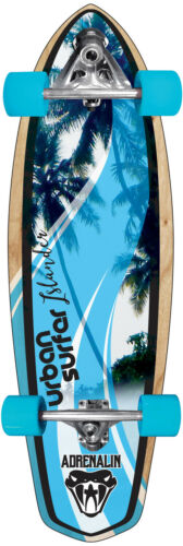 "New Adrenalin Self Propelled Skateboard – Islander 32"" FREE DELIVERY & T TOOL"