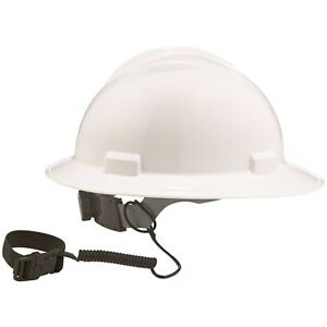 Ergodyne Coil Lanyard with Buckle for Hard Hats