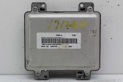 2005 Pontiac G6 Chevrolet Malibu ecm ecu computer 12598113