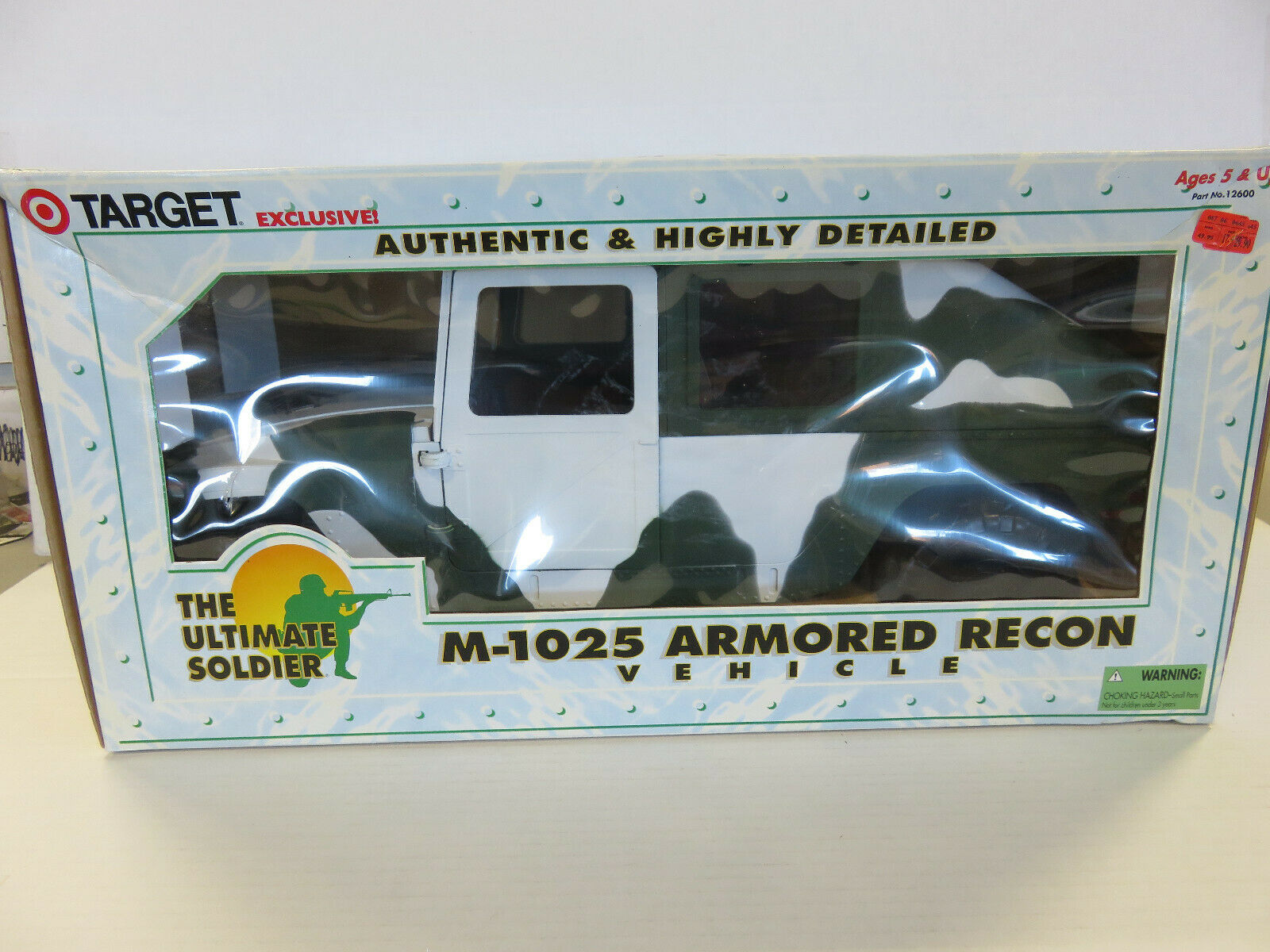 The Ultimate Soldier-M-1025 Armoruge Recon véhicule-Target EXCLUSIVE - 1998
