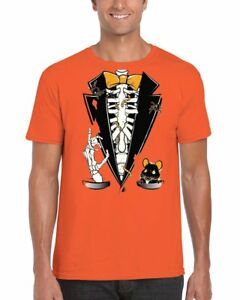 edd22c66c Image is loading Halloween-Tuxedo-Men-039-s-T-Shirt