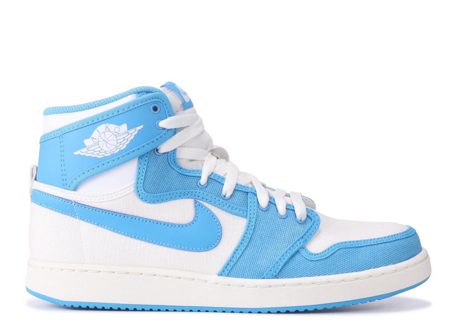 Nike air jordan 1 aj ko hohe hohe hohe unc tar heels größe 14.655328 900 677495