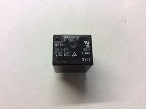 Siemens T7CV5D12 Electric Power Relay 12V 12A 120V 10A 240V 10A 28V