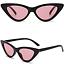 OCCHIALI-DA-SOLE-Vintage-Retro-GATTO-Cat-Eyewear-DONNA-SPECCHIO-Modello-2019 miniatura 9