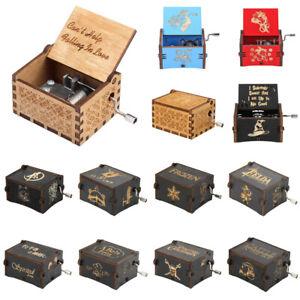 Vintage-Wooden-Music-Box-Antique-Hand-Crank-Clockwork-Music-Box-Birthday-Party