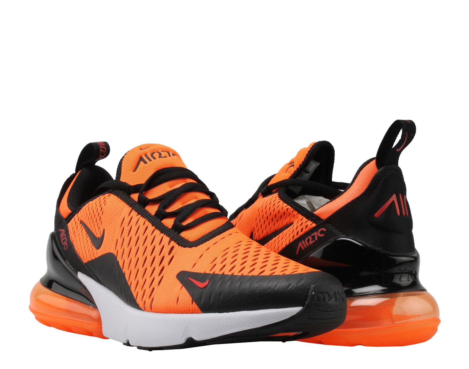 new style 2e593 20a5b Nike Air Max 270 Team Orange/Black-White Men's Lifestyle Shoes BV2517-800