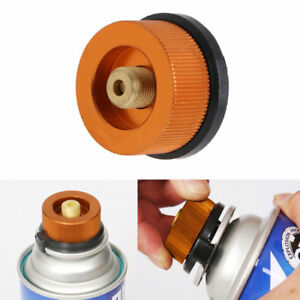 Outdoor Camping Burner Conversion Head Stove Connector Gas Bottle Adaptor  new.