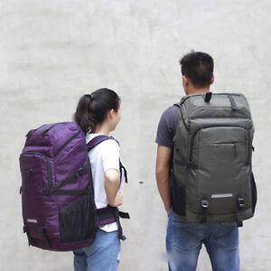 80L-Outdoor-Travel-Hiking-Camping-Backpack-Waterproof-Bag-Mountaineering-Laptop