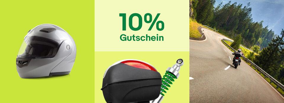 Alles rund ums Motorrad mit -10%* – Jetzt ausstatten - Alles rund ums Motorrad mit -10%*