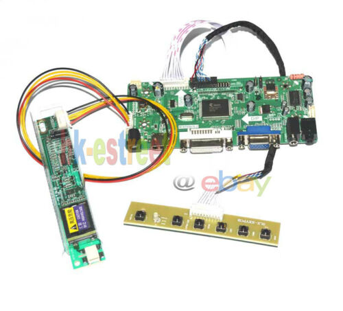 VGA DVI HDMI Audio LCD Screen Controller Board Kit for LTN156AT01 1366*768