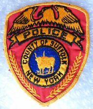 Patch- County of Suffolk New York US Police Patch (New*apx. 118x95 mm)