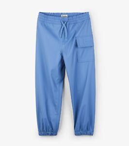 *BNWT Hatley Boys Girls Splash Pants Waterproof Trousers Red Rain Water Proof