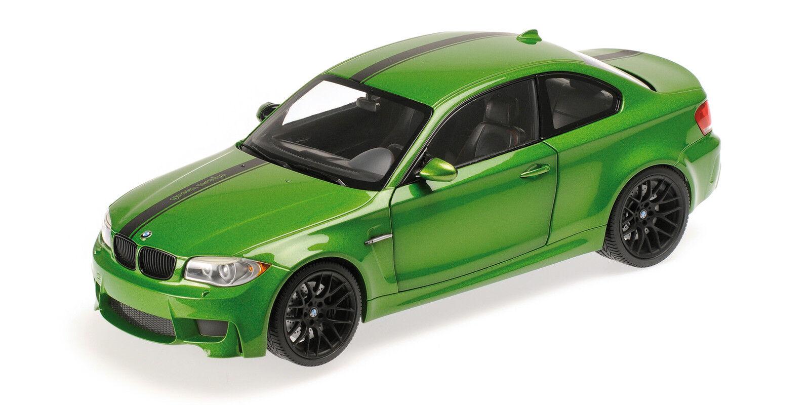 Bmw 1er M Coupe' 2011 vert 1 18  Model 110020024 MINICHAMPS  vente discount