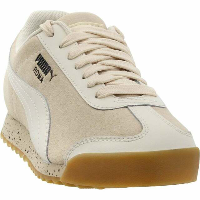 Puma Roma Classic Dolce Vita Lace Up  Mens  Sneakers Shoes Casual   - Off White