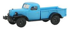 HO 1/87 Busch # 44024 Dodge Power Wagon Pickup 1945-1968 w/winch - Blue