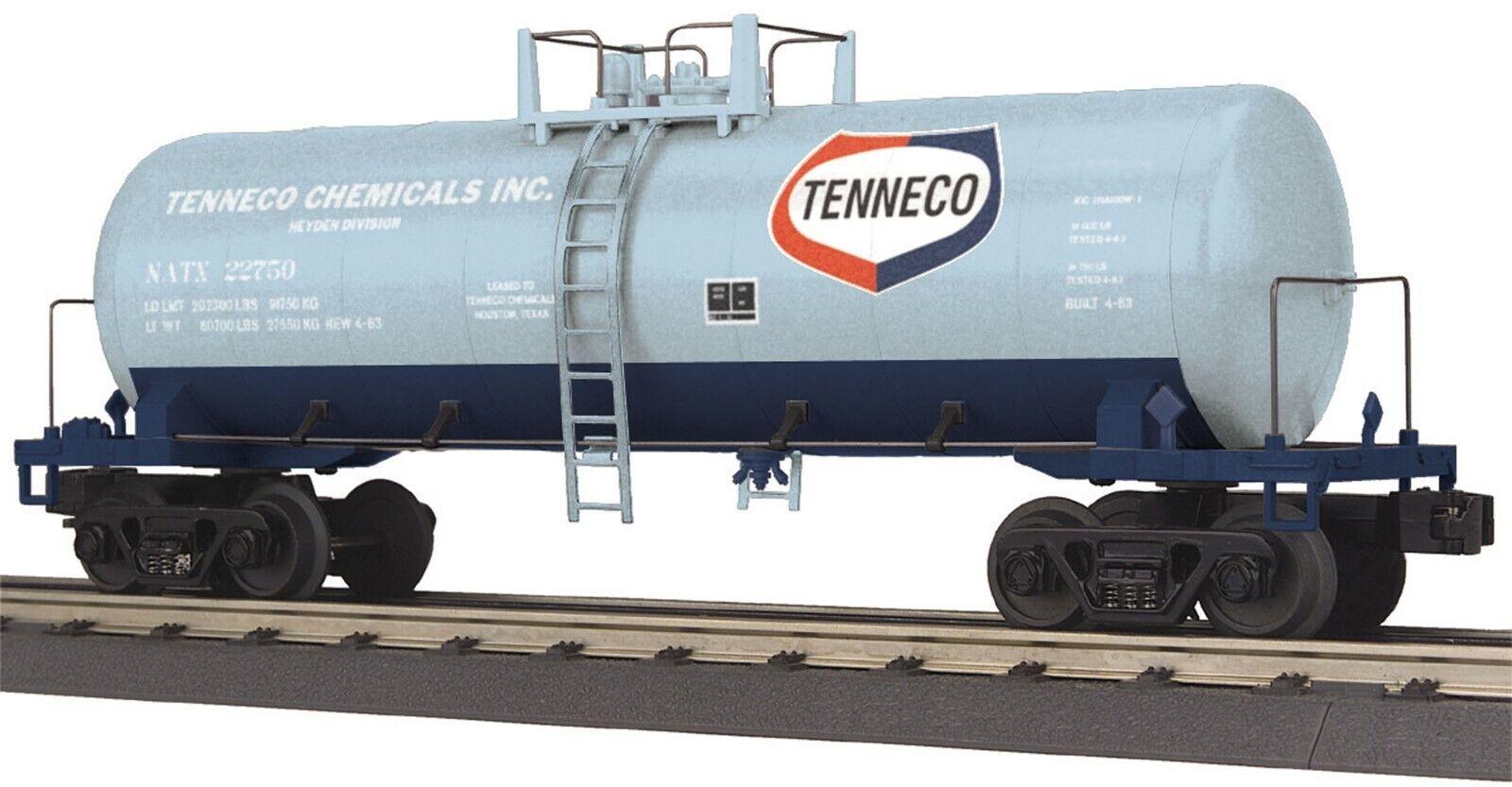 NIB RAILKING 30-73398 O Gauge RailKing Modern Tank Car Tenneco