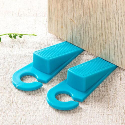 1x Hanging Rubber Door Stopper Hook Safety Protector Blocker Home Draft GR
