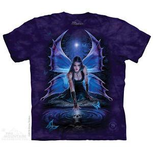 Immortal-Flight-T-Shirt-by-The-Mountain-Dark-Fantasy-Angel-Fairy-Sizes-S-5X-NEW