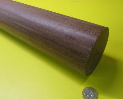 "Phenolic Garolite Micarta CE Canvas Rods 1.25 Diameter x 48/"" Long"